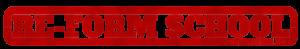 The Re-Form School logo