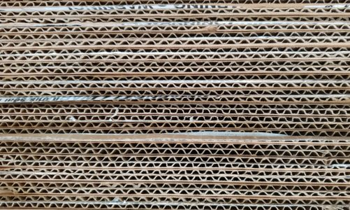 corrugated cardboard edges