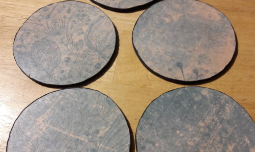 Quick and Dirty DIY: Drink Coasters